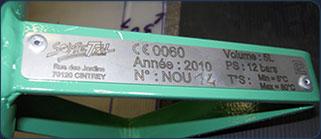Fabrication d'appareillage sous pression répondant à la norme CE